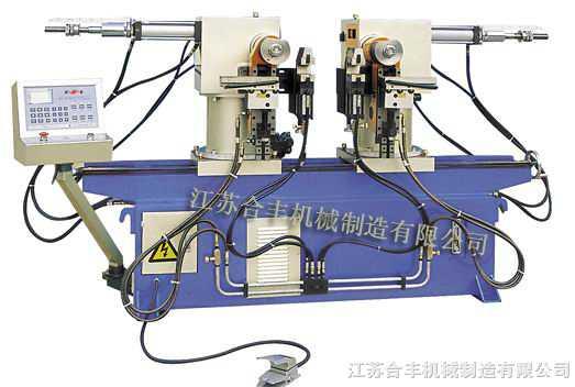 SW-40A双头液压弯管机(可内外转90度)