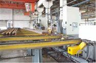 数控钢轨钻孔生产线