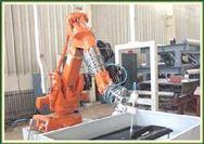 机器人水力切割机