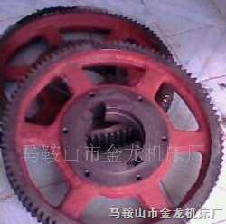 Q11-4000剪板机大齿轮