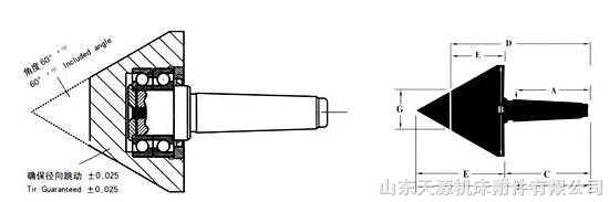 车床活顶尖结构图片