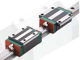 四列式超重负荷HG系列线性滑轨