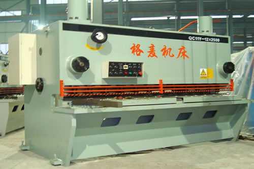12×2500液压闸式剪板机