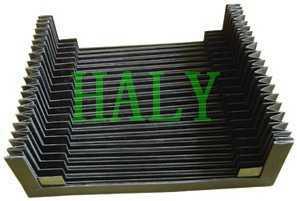 塑胶布材质机床导轨防尘罩