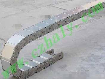TLG钢铝拖链,全封闭钢铝拖链高清图片