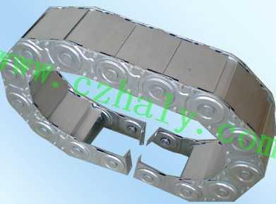 TLG125型全封闭钢铝拖链安装示意图
