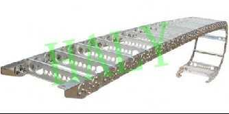 TL225重型钢制拖链,钢厂用拖链,炼钢拖链