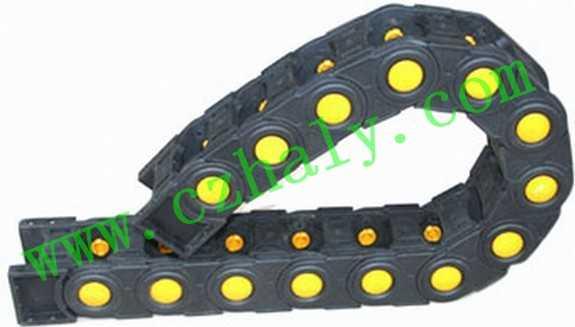 重型桥式尼龙拖链,移动电缆护线拖链