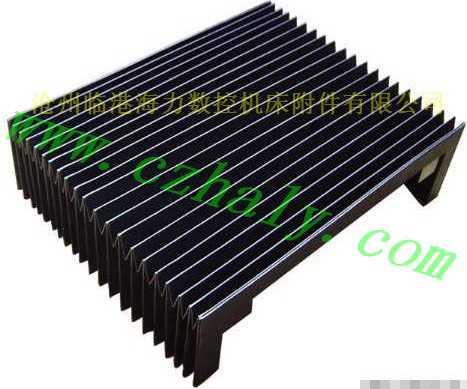 进口三防布风琴式机床防护罩特点