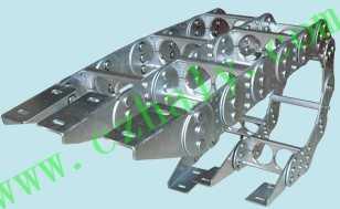 TL155钢铁拖链,框架式钢制拖链