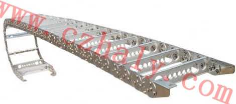 TL65-III型深孔钻床桥式钢制拖链