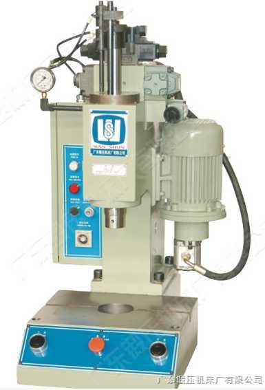 台式单柱油压机