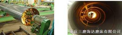 螺旋焊管内外焊缝砂带磨削机