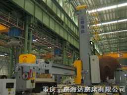 重型工业罐体抛磨机