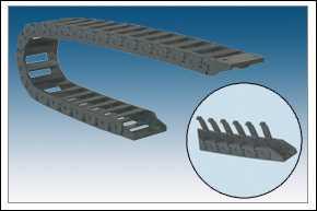 工程尼龙塑料拖链