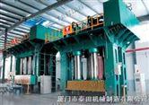 框架式复合材料热压机