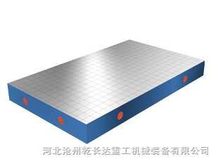 500*600划线平板 铸铁平台乾长达