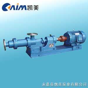 I-1B系列浓浆泵 单螺杆泵 卧式螺杆泵
