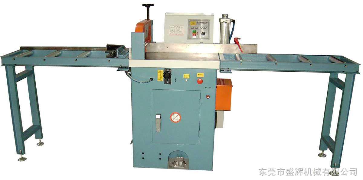 半自动高速铝材切割机