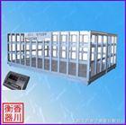 称猪牛羊的地磅电子秤,猪栏秤,江苏连云港地磅厂