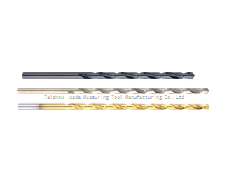 HIGH-SPEED STEEL STRAIGHT SHANK LENGTHEN THE TWIST DRILLS-DIN340
