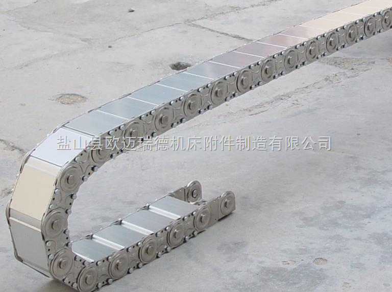 吉林 工程钢制拖链,线缆拖链,钢厂用拖链
