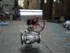 Q647F/H/Y-16C-DN150气动固定球阀