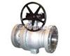 Q347F/H/Y-16C-DN150蜗轮高温固定球阀
