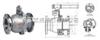 Q41H/Y-16C-DN150铸钢硬密封手动球阀